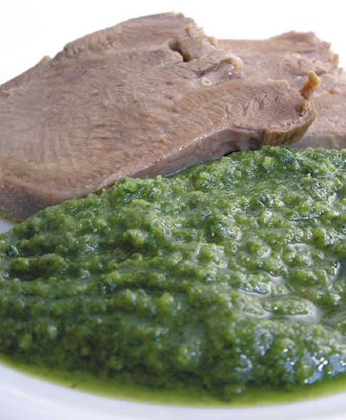 Ricetta salsa verde per carne