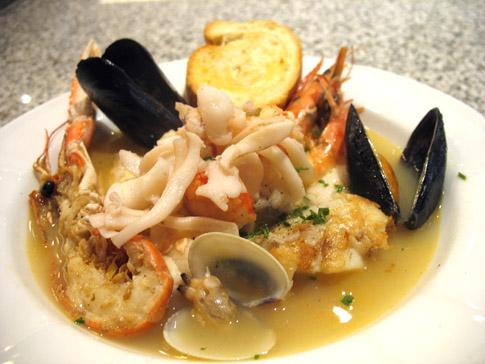 Ricetta zuppa di pesce for Ricette di pesce