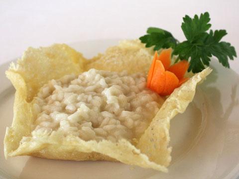 Il risotto alla parmigiana: ingredienti e preparazione