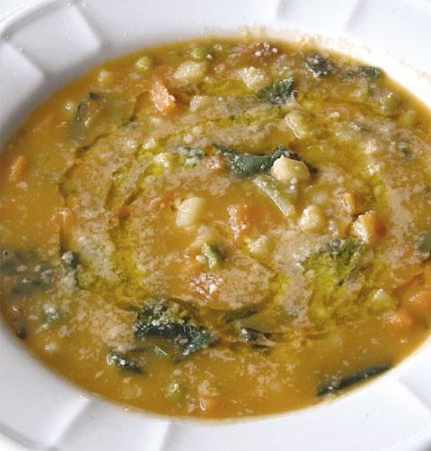 Ricetta minestrone di verdure for Ricette di verdure