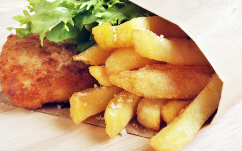 competitive price ff447 a71f7 Fish & chips