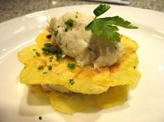 Baccalà mantecato con patate