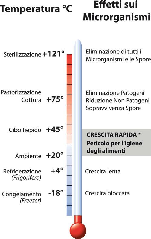 Temperatura del frigo il nome di congelare il termometro for Frigorifero temperatura